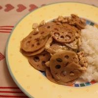 Lotuswurzel mit chinesischem Essig